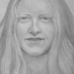 Portret van de zus van een vriend