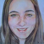 Portret van een vriendin