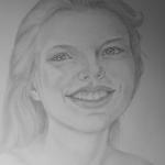Levendige glimlach